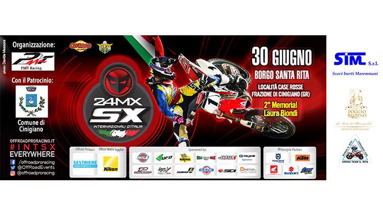 Internationalen Meisterschaft von Supercross Italien